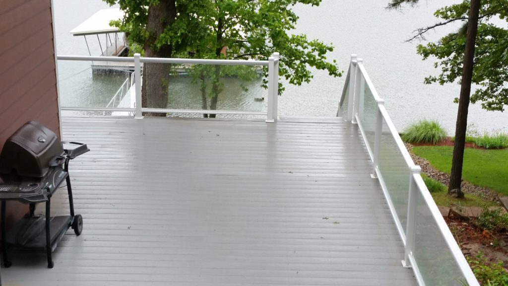 Glass Railings in Osage beach