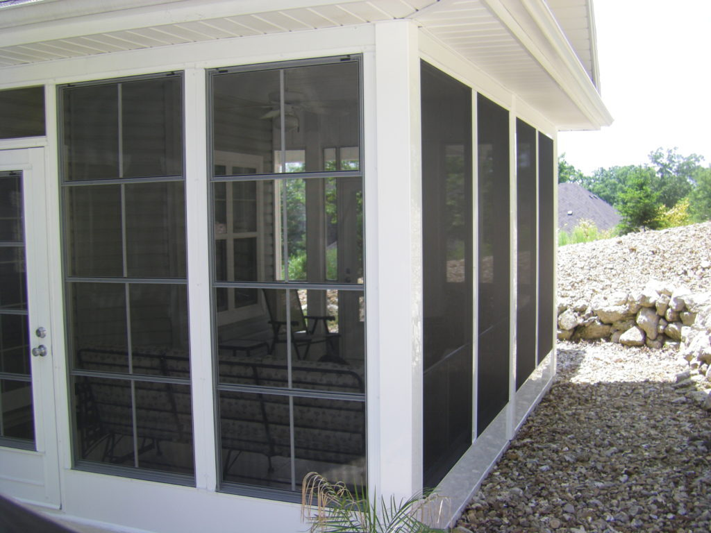 Lake Ozark, Osage Beach, Camdenton, Linn Creek Sunroom Screen Room